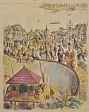 Schonbach (F., 20th century). - Taronga Park Zoo, Sydney,