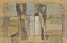 Lloyd (Reginald J., 1926-). - Two Figures, 1965,