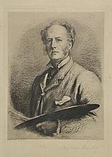 Millais (John Everett, 1829-1896). - Self Portrait,