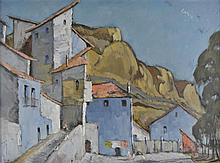 Green (Leonard James, 1905-1993). - Spanish townscape,