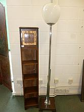Art Deco.  - A 1920s oak grandmother type clock,