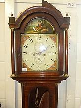Longcase Clock.  - A 19th-century longcase clock,