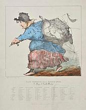 North Wales. Dodd (J.J.), Dame Venodotia Alias Modryb Gwen; A Map of North Wales