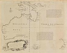 Australia. Bowen (Emanuel), A Complete Map of the Southern Continent Survey'd by