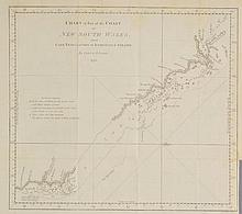 Australasia. A mixed collection of fifteen charts and maps, mostly 18th & 19th c