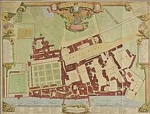 London. Vertue (George, publisher), A Survey & Ground Plot of the Royal Palace o