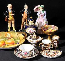 Royal Doulton. A pair of Royal Doulton figures, Pickwick H.N.2099 and Pecksniff