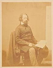 Mudd (James, 1821-1906). Portrait  of  Alfred, Lord Tennyson (1809-1892), 1861,