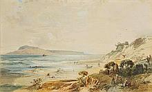 Bridell  (Frederick  Lee, 1831-1863). View of Portland and Sands Foot Castle,  D