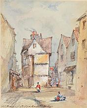 Album of watercolours. An interesting album of watercolour views, 1844/45,  118