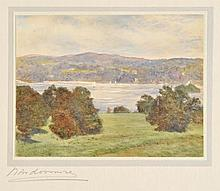 Lake District. An album containing 40 finely executed small watercolour drawings