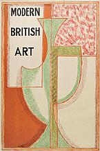 Attributed to Duncan Grant (1885-1978). Design for a Poster, circa 1960s/70s,