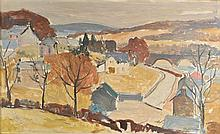 McNairn  (John,  1910-2009). Landscape - Spring, oil on board, signed lower righ