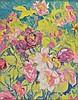 AR Epstein (Sir Jacob, 1880-1959). Peonies and Roses, circa 1936, watercolour an