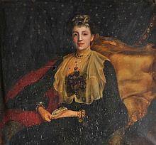 McDonald (Madeline M., 1874-1942). Portrait of Anne Richardson Armstrong, 1903,