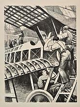 *@Nevinson (Christopher Richard Wynne, 1889-1946). Assembling Parts, 19