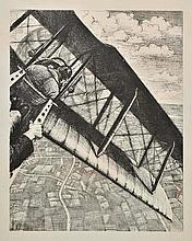 *@Nevinson (Christopher Richard Wynne, 1889-1946). Banking at 4000 feet