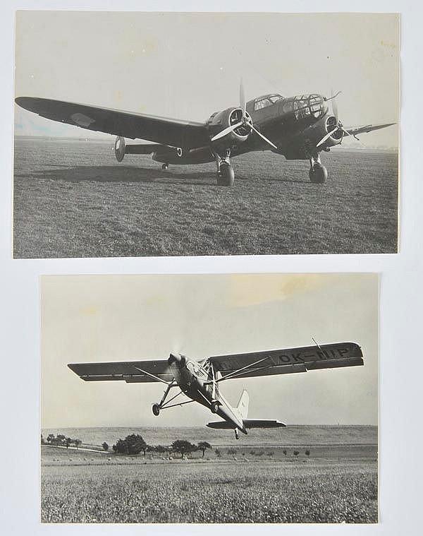 Aero. A miscellaneous collection of photographs