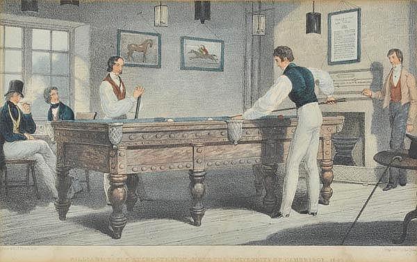 * Billiards. Picken (T.), Billiard Table at