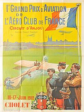 Roland Garros and Aviation Festivals at Cholet.