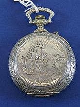 *A Ballooning Pocket Watch.