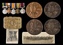 * An emotive WWI family group to five brothers