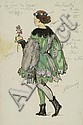 Benois (Alexandre, 1870-1960). Costume design for