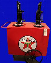 Texaco 2 product Oil Cart