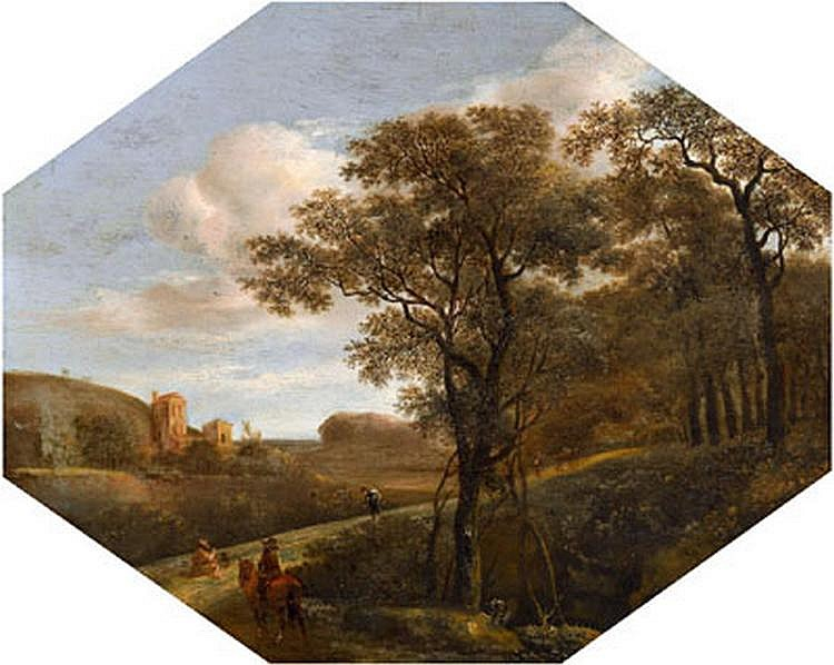 Old Master Painting: Pieter Jansz. van Asch (Delft