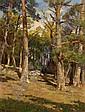 Hugo Darnaut (Dessau 1850-1937 Vienna) A forest