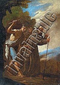 agostino beltrano  napoli 1607   1656 65  zwei