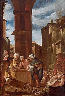 Domenico Fetti o Feti (Rome / Roma 1589 - 1624