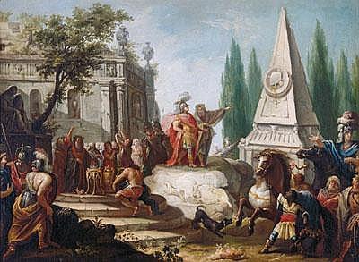 Ription Johann Heinrich Schönfeld (Biberach an der