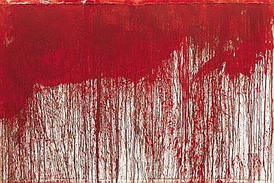 Hermann Nitsch * (born 1938 in Vienna) Dripping,