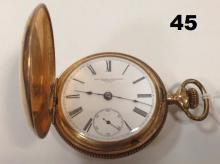 NEW YORK STANDARD POCKET WATCH,