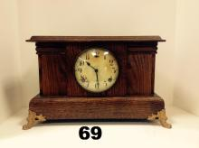 EARLY 1900'S GILBERT MANTLE CLOCK