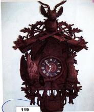 LATE 1800'S / EARLY 1900'S BLACK FOREST CUCKOO CLOCK