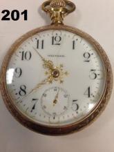 1901 WALTHAM 175 MODEL, 17 JEWEL, 18 SIZE,