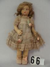 LENCI 14 IN. GIRL WITHOUT FACTORY TAG,