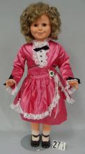 SHIRLEY TEMPLE 35 IN. VINYL DOLL