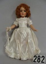 MARY HOYER 14 IN. COMPO BRIDE DOLL