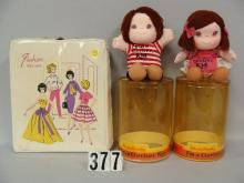 LOT: FASHION VINYL DOLL CARRY CASE