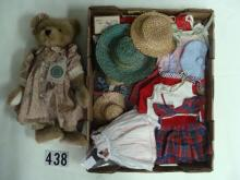 LOT: JEAN DARLING SEWING OUTFIT WITH BOX,