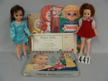 BOX WITH PAPER DOLLS INCLUDG. CENTURY