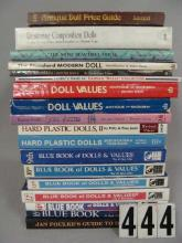 (2) BOX LOTS OF DOLL RELATED BOOKS,