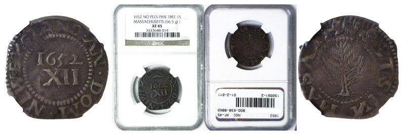 1652 Colonial Coinage