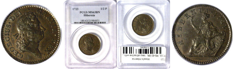 1723 Colonial Coinage