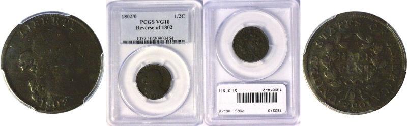 1802/O Half Cent
