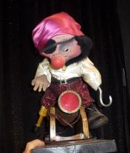 Pirate on cannon