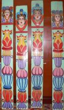 Decorative panels from a carousel